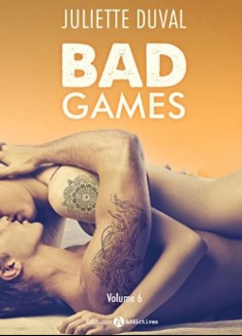 Couverture Bad games, tome 6