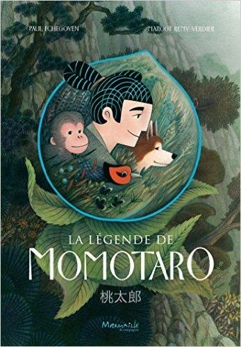 Couverture La Légende de Momotaro