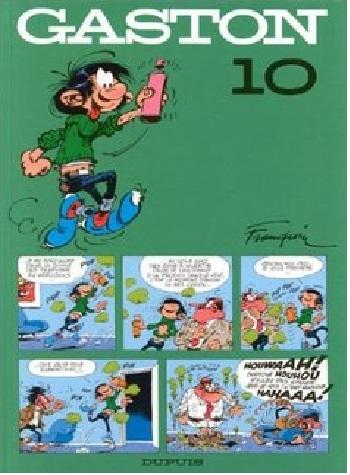 Couverture Gaston (1e série), tome 10 : Le Géant de la Gaffe
