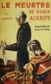Couverture Le meurtre de Roger Ackroyd Editions Le Masque 2007