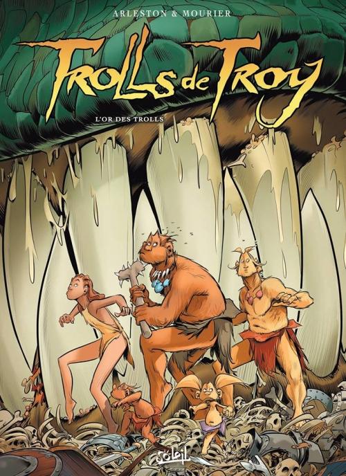 Couverture Trolls de Troy, tome 21 : L'or des trolls