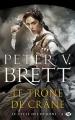 Couverture Le Cycle des démons, tome 4 : Le trône de crâne Editions Milady (Fantasy) 2016