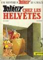 Couverture Astérix, tome 16 : Astérix chez les helvètes Editions Dargaud 1982