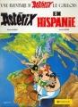 Couverture Astérix, tome 14 : Astérix en Hispanie Editions Dargaud 1984