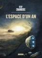 Couverture L'espace d'un an Editions L'Atalante (La Dentelle du cygne) 2016