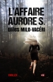 Couverture L'affaire Aurore S. Editions du 38 2016