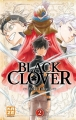 Couverture Black Clover, tome 02 Editions Kazé (Shônen) 2016