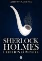 Couverture Sherlock Holmes, édition complète Editions CreateSpace 2013