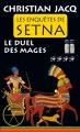 Couverture Les enquêtes de Setna, tome 4 : Le duel des mages Editions France Loisirs (Romans historiques) 2016