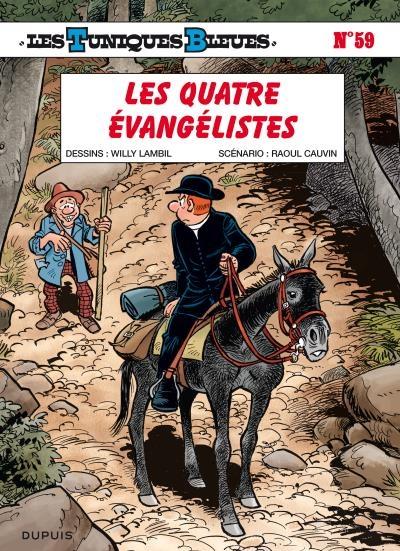 Couverture Les Tuniques Bleues, tome 59 : Les quatre évangélistes