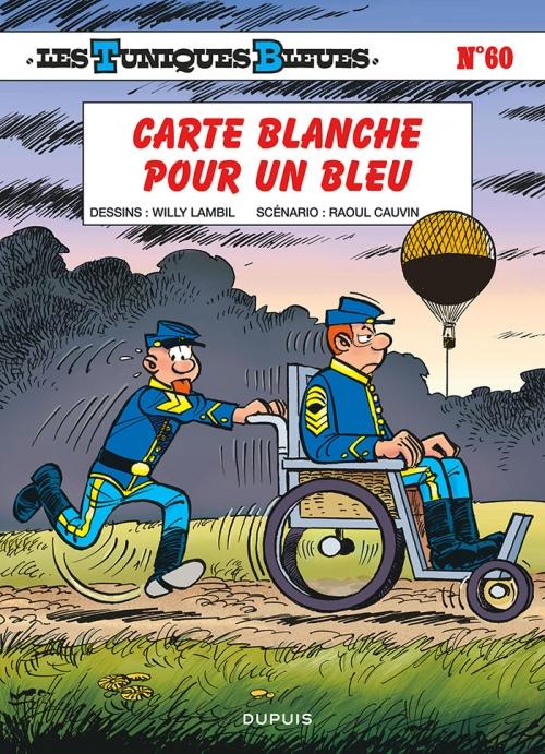 Couverture Les Tuniques Bleues, tome 60 : Carte blanche pour un bleu