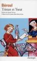 Couverture Tristan et Iseut, extrait Editions Folio  (Classique) 2000