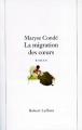 Couverture La migration des coeurs Editions Robert Laffont 1995