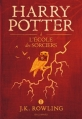 Couverture Harry Potter, tome 1 : Harry Potter à l'école des sorciers Editions Gallimard  2016