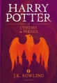Couverture Harry Potter, tome 5 : Harry Potter et l'ordre du phénix Editions Gallimard  2016