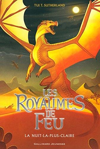 Couverture Les Royaumes de Feu, tome 05 : La Nuit-la-plus-Claire