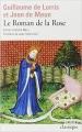 Couverture Le Roman de la Rose Editions Folio  (Classique) 1983