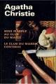 Couverture Miss Marple au club du mardi / Le club du mardi continue Editions France Loisirs (Agatha Christie) 1998