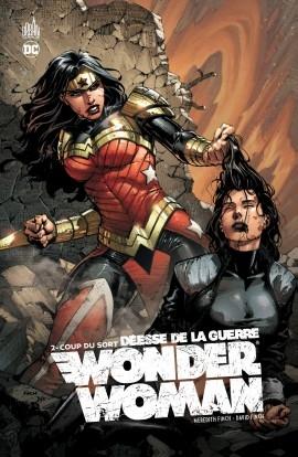 Couverture Wonder Woman : Déesse de la guerre, tome 2 : Coup du sort