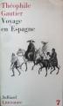 Couverture Voyage en Espagne Editions Julliard (Littérature) 1964