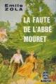 Couverture La faute de l'abbé Mouret Editions Le Livre de Poche 1962