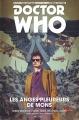 Couverture Doctor Who : Le dixième docteur, tome 2 : Les anges pleureurs de Mons Editions Akileos 2016