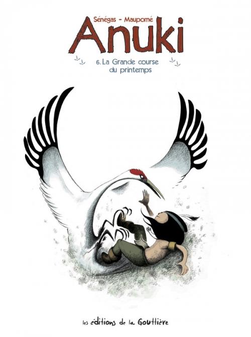 Couverture Anuki, tome 6 : La Grande Course de printemps