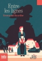 Couverture Entre les lignes Editions Folio  (Junior) 2016