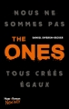 Couverture The ones, tome 1 Editions Hugo & cie (New way) 2016