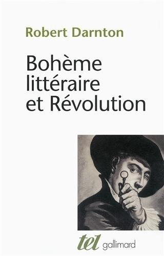 Couverture Bohème littéraire et Révolution