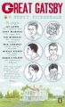 Couverture Gatsby le magnifique Editions Penguin Books 2011