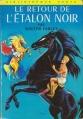 Couverture Le retour de l'étalon noir Editions Hachette (Bibliothèque Verte) 1966