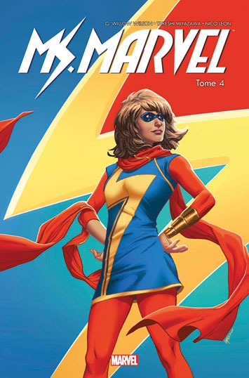 Couverture Miss Marvel (Marvel Now), tome 4 : Super Célèbre