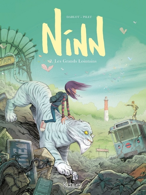 Couverture Ninn, tome 2  : Les grands lointains