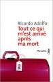 Couverture Tout ce qui m'est arrivé après ma mort Editions Métailié (Bibliothèque portugaise) 2015