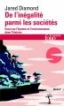 Couverture De l'inégalité parmi les sociétés Editions Folio  (Essais) 2015