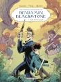 Couverture Les aventures ahurissantes de Benjamin Blackstone, tome 1 : L'île de la jungle Editions Casterman 2016