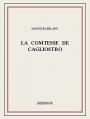 Couverture La comtesse de Cagliostro Editions Bibebook 2015