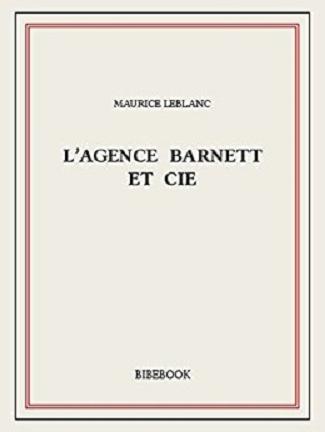 Couverture L'agence Barnett et cie