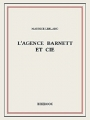 Couverture L'agence Barnett et cie Editions Bibebook 2015
