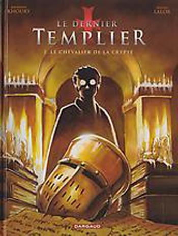 Couverture Le dernier Templier, tome 2: Le chevalier de la crypte