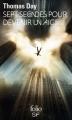 Couverture 7 secondes pour devenir un aigle Editions Folio  (SF) 2016