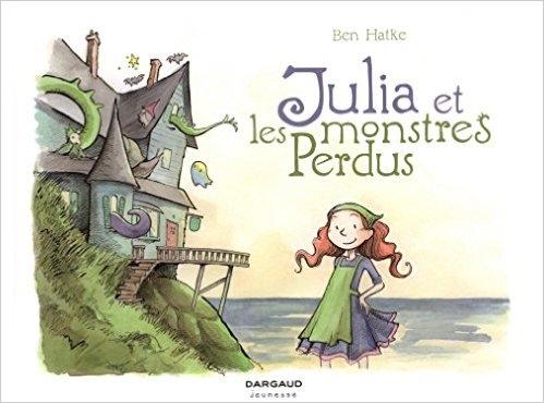 Couverture Julia et les monstres perdus