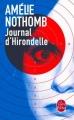 Couverture Journal d'Hirondelle Editions Le Livre de Poche 2015