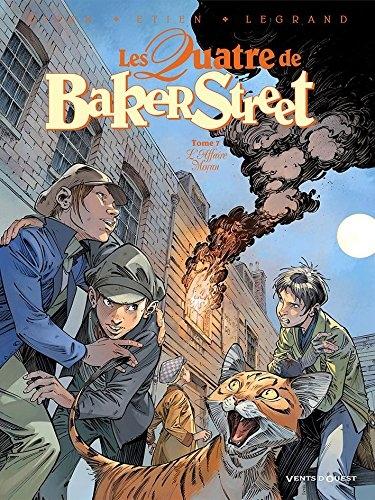 Couverture Les Quatre de Baker Street, tome 7 : L'affaire Moran