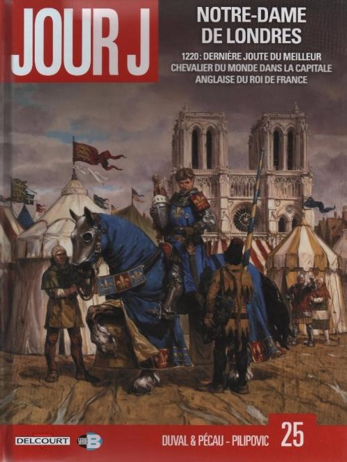 Couverture Jour J, tome 25 : Notre-Dame de Londres