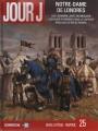 Couverture Jour J, tome 25 : Notre-Dame de Londres Editions Delcourt (Série B) 2016