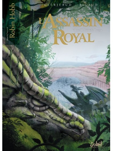 Couverture L'assassin Royal (BD), tome 10 : Vérité le Dragon