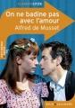 Couverture On ne badine pas avec l'amour Editions Belin / Gallimard (Classico - Lycée) 2012