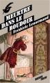 Couverture Meurtre dans le boudoir Editions Le Masque 2013